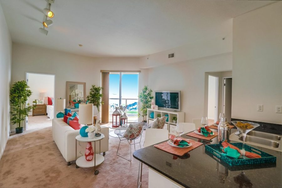 488 Aqua Towers Unit #1701- Long Beach